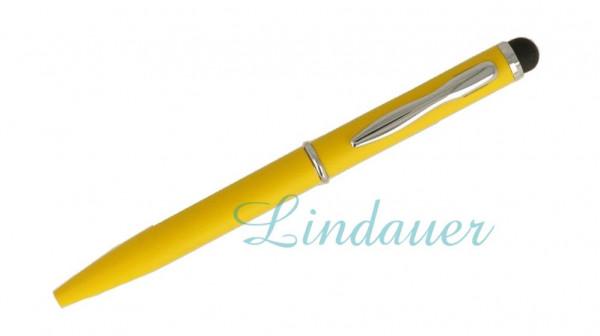 Mini-Kugelschreiber Touch gelb