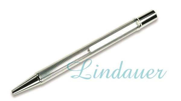 Versilberter Kugelschreiber
