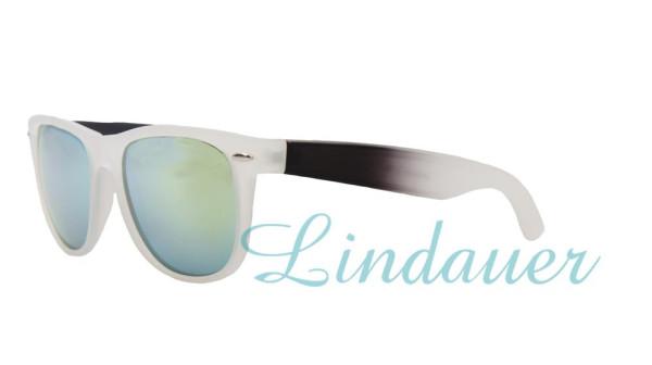 Sonnenbrille, transparent/black