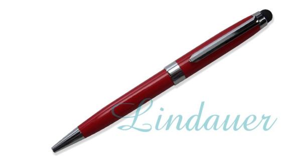 Kugelschreiber mit Touch rot