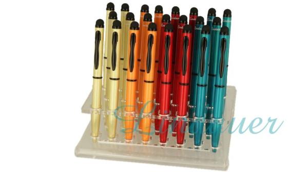 Mini-Kugelschreiber Touch rot