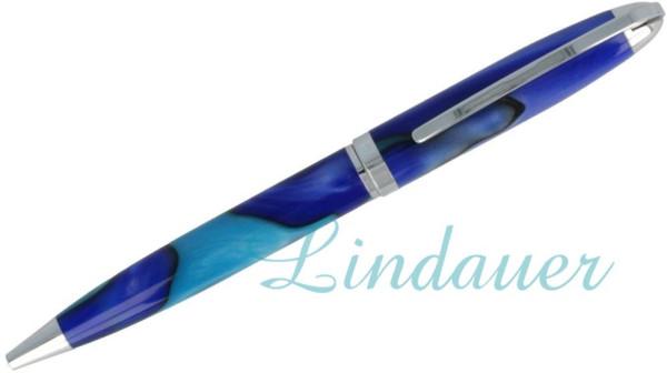 Kugelschreiber in blau-hellblau