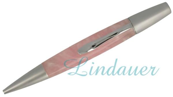 Kugelschreiber marmoriert: rosa