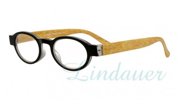 Lesehilfe; schwarz/Holz
