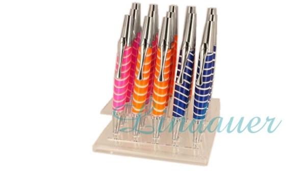 15xK910 Kugelschreiber in bunten Farben im Display