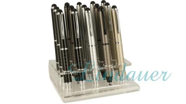 VA Mini-Kugelschreiber mit Noppen