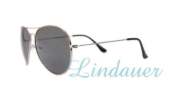 Sonnenbrille, silber
