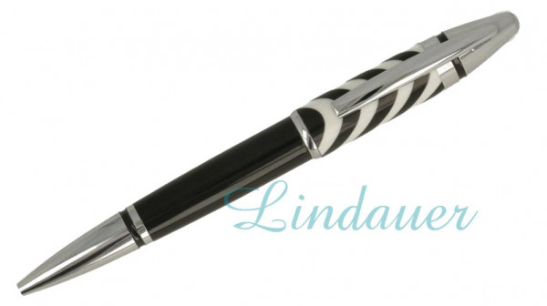Kugelschreiber Zebra/ marmoriert Celluloid