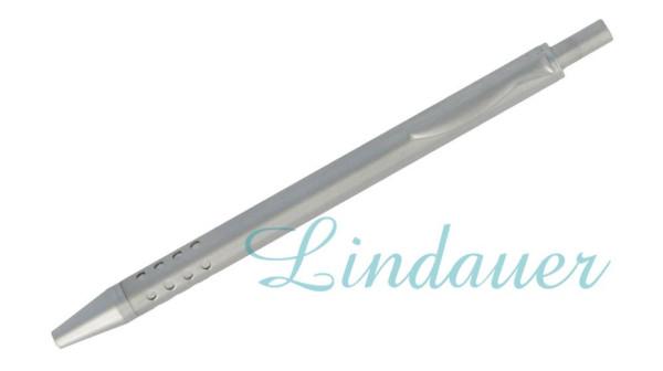 Lindauer Mini-Kugelschreiber chrom-matt