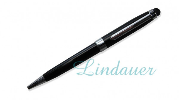 Kugelschreiber mit Touch schwarz