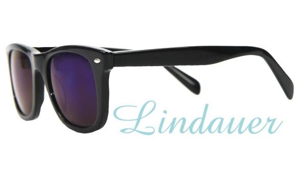Sonnenbrille, schwarz